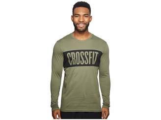 Reebok Crossfit Long Sleeve Tee Men's T Shirt