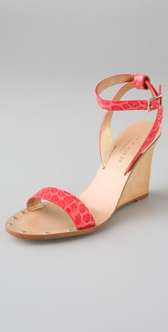 Kate Spade Shoes Jette Ankle Wrap Wedge Sandals