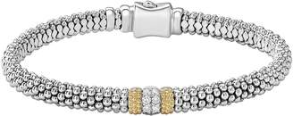 Lagos Diamond Lux Pave Station 6mm Bracelet