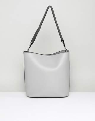 Park Lane Structured Shoulder Bag With Webbing Strap