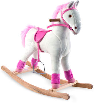 Trademark Global Happy Trails Patricia Plush Rocking Pony