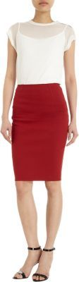 Lanvin Fitted Pencil Skirt