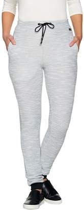 Hottotties Terramar French Knit Melange Lounge Slim Pant