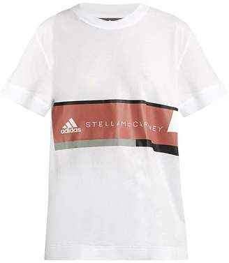 adidas by Stella McCartney Essentials Logo-print Cotton T-shirt