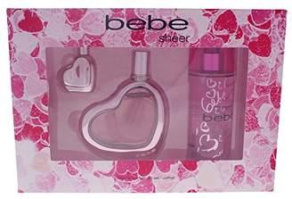 Bebe Sheer 3 Piece Eau de Parfum Spray Gift Set for Women