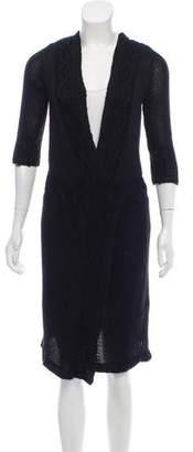 Rodarte Knit Midi Sweater Dress