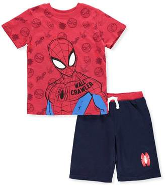 Spiderman Little Boys' 2-Piece Outfit