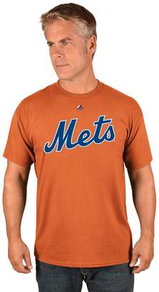 Majestic Men's New York Mets Official Wordmark Tee