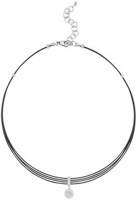 "Alor Diamond Choker Necklace, 13"""