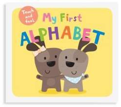 Macmillan My First Alphabet Touch and Feel Book