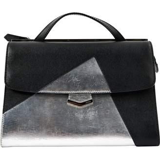 Fendi Demi Jour Metallic Leather Handbag