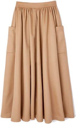 Co Wool Flannel Skirt
