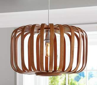 Pottery Barn Kids Wooden Cage pendant & Cord Kit