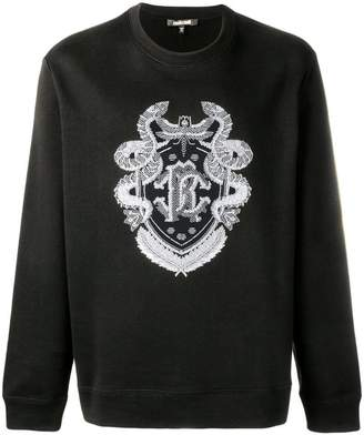 Roberto Cavalli embroidered sweatshirt