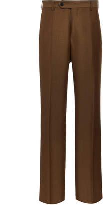 EIDOS Wool-Mohair Straight-Leg Trousers