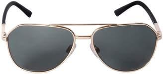Dolce & Gabbana Aviator Metal Frame Sunglasses