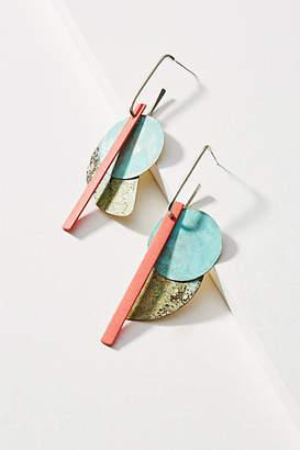 Sibilia Good Fortune Linear Drop Earrings