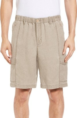 Men's Tommy Bahama Linen The Dream Cargo Shorts $98 thestylecure.com