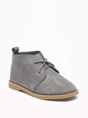 Old Navy Sueded Desert Boots for Toddler Boys