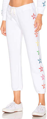 Monrow x REVOLVE Vintage Rainbow Stars Sweatpants