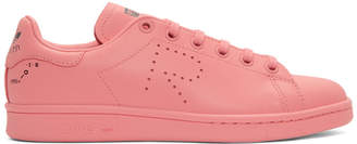 Raf Simons Pink adidas Originals Edition Stan Smith Sneakers
