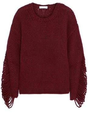 IRO Vasily Ribbed Wool-blend Sweater