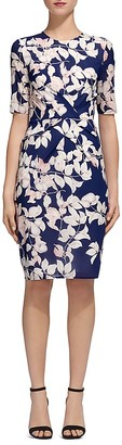 Whistles Printed Body Con Dress $300 thestylecure.com