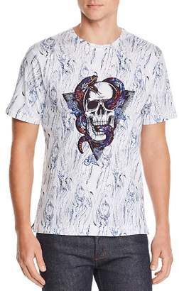 Robert Graham Snake & Skull Graphic Tee