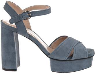 Stuart Weitzman Exposed Platform Sandals