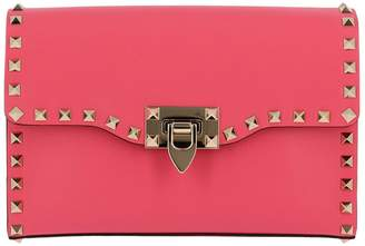 Valentino Mini Bag Rockstud Bag Spike Small In Smooth Nappa Leather With Metal Studs And Shoulder Strap