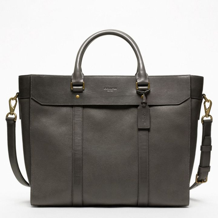 Coach Crosby Leather Business Tote