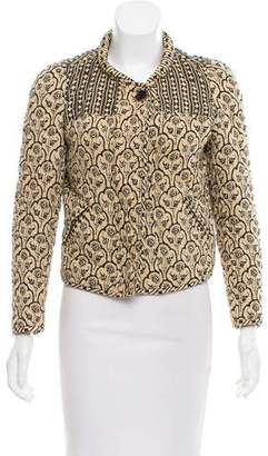 Etoile Isabel Marant Quilted Zip-Up Jacket