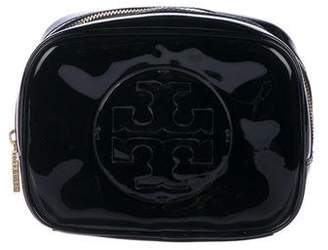 fb60ed6f02 Tory Burch Patent Leather Cosmetic Bag
