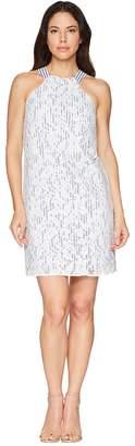 Maggy London Breezy Leaf Lace Shift Dress Women's Dress