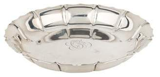 Cartier Sterling Silver Scalloped Dish