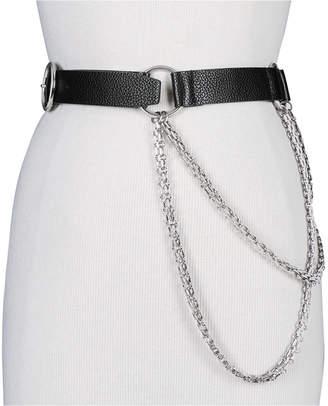 Steve Madden Chain-Link Pants Belt