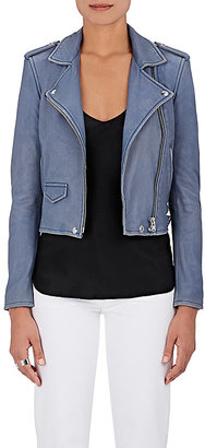 IRO Women's Ashville Leather Moto Jacket $1,200 thestylecure.com
