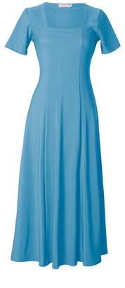 Tomcsanyi - Capriati Cerulean Jersey Dress