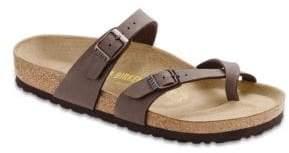 Birkenstock Mayari Birkibuc Cross-Strap Sandals