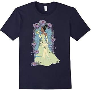 Disney Princess And The Frog Tiana Floral Kiss T-Shirt