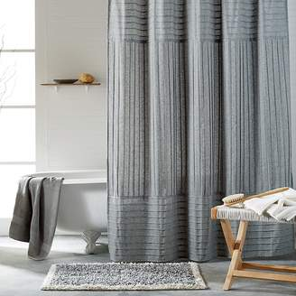 DKNY Pure Pintuck Shower Curtain