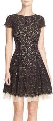Women's Eliza J Lace Fit & Flare Dress $168 thestylecure.com
