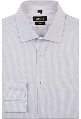 Barneys New York Men's Striped Cotton Poplin Dress Shirt