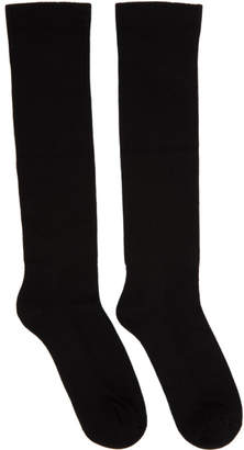 Rick Owens Black Sisyphus Socks