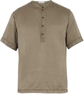 Tomas Maier Cotton and silk-blend T-shirt