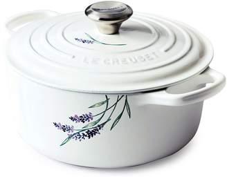 Le Creuset Provence Applique Signature Round Dutch Oven, 4.5 qt.