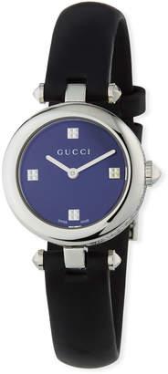 Gucci 27mm Diamantissima Watch w\/ Leather Strap