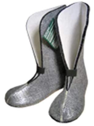 Nu-Source Radiantex Boot Liner, Size - 7