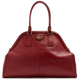 Gucci Re(Belle) large top handle leather tote