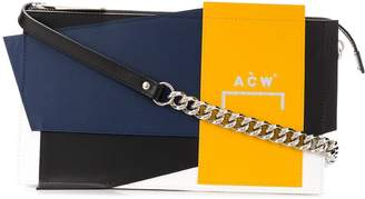 A-Cold-Wall* colour block deconstructed crossbody bag
